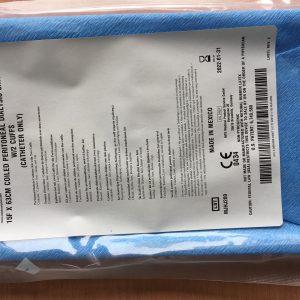 Catheter lọc màng bụng người lớn (Peritoneal Dialysis Catheter set 15F x 63cm coiled)