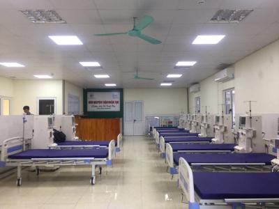 Đơn nguyên lọc máu Bệnh viện Đa khoa Hoài Đức